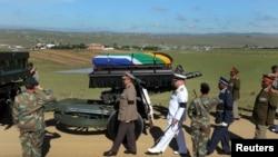 Церемония похорон Нельсона Мандела