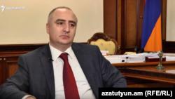 Глава Специальной следственной службы Сасун Хачатрян (архив)