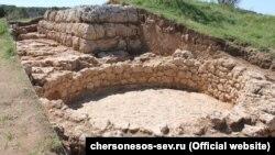 Раскопки в Херсонесе, 11 мая 2017 год