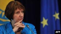 Шефицата за надворешна политика на ЕУ Кетрин Ештон.