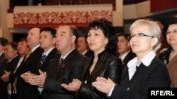 """Ак жол"" партиясынын курултайы. 1-май, 2009-жыл"