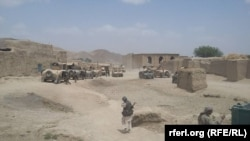 An Afghan army operation in Faryab on July 25.