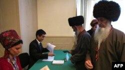 Избирательный участок, Туркменистан