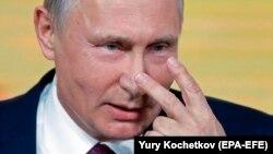 Ежегодная пресс-конференция Владимира Путина, 14 декабря 2017 года