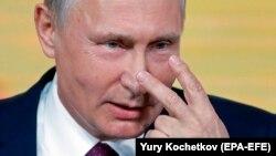 Putin dekabrın 14-də keçirilmiş mətbuat konfransında