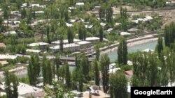 Намое аз шаҳри Хоруғ - маркази маъмурии Вилояти Мухтори Кӯҳистони Бадахшон.