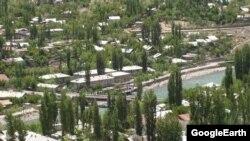 Хорог қаласы, Таулы Бадахшан аймағы. Көрнекі сурет.
