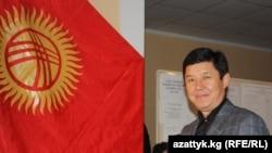 Қырғызстан премьер-министрі Темір Сариев.
