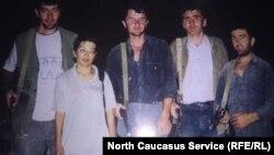 Ополченцы, Дагестан, 1999 год (архивное фото)