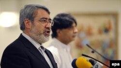 Министерот за внатрешни работи на Иран, Абдолреза Рахмани Фазли.