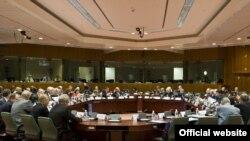 Евробиримдик - Борбор Азия жыйынынан бир көрүнүш. Брюссель, 15-сентябрь, 2009-ж.