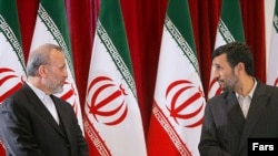 Iran's President Mahmud Ahmadinejad (right) seems to have axed Manuchehr Mottaki as foreign minister more for domestic political reasons than policy differences.