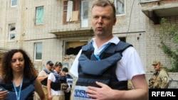 Заступник голови СММ ОБСЄ Александр Гуґ