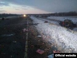 Avariya tong saharda sodir bo'ldi (Orenburg IIBBsi fotosi)