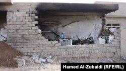 حال بيت في الموصل تعرض الى تفجير