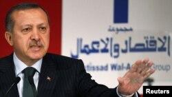 Премьер-министр Эрдоган на турецко-арабском форуме в Стамбуле, 10 июнь 2010