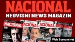Sa web site-a Nacionala
