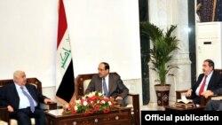 وزير الخارجية السوري وليد المعلم يجري محادثات في بغداد