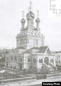 Русская церковь во Флоренции. 1906 год