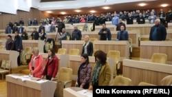 Зала засідань Сумської міської ради, 4 жовтня 2019 року
