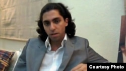 Website editor Raif Badawi in an undated photo