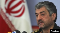 Iran -- Revolutionary Guard Corps commander Mohammad Ali Jafari