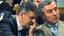 Svetozar Marović i Milo Đukanović