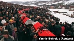 Косовари ховають загиблих