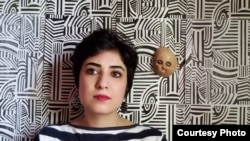 "Atena Farghadani, Iranian Cartoonist was jailed in 2014 for drawing an ""offensive"" cartoon of Iranian legislators"