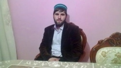 """""""When [my brother] tells me...that I shouldn't celebrate the Prophet's birthday, I answer: 'Stop. This is where this conversation must end,'"""" says Rustam (Abubakar) Shapiyev. Magomed Shapiyev refused to be photographed for this story."""