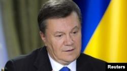 Украина президенті Виктор Янукович. Киев, 26 қараша 2013 жыл.