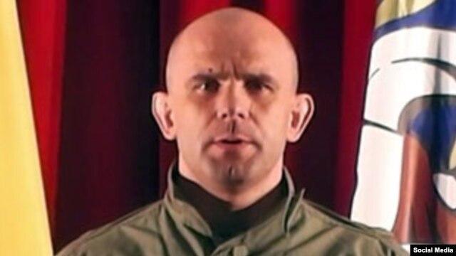 «Беркут» арнайы жасағының бұрынғы рота командирі Дмитрий Садовник.