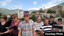 Hor 'Slavuj' u Mostaru