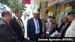 Элазыктагы фестивалга барган кыргыз акындары.