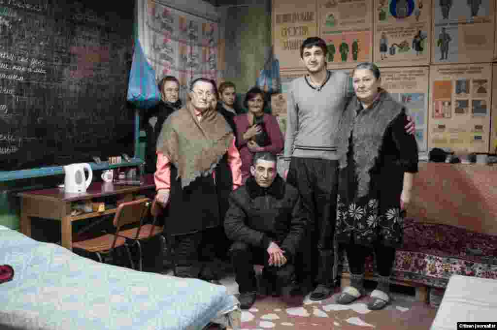Donetsk, Ukrain. A bomb shelter in Petrovsky district.