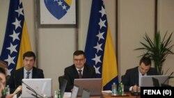 Prva sesija Vijeća ministara sa predsjednikom Zoranom Tegeltijom, ilustrativna fotografija