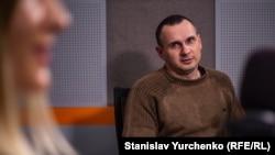Олег Сенцов у студії Радіо Крим.Реалії, 23 вересня 2019 року