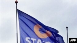 Norway -- Logo of Statoil, the Norwegian giant oil company taken, Oslo, 24Sep2003
