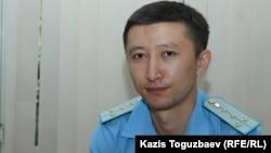 Прокурор Дидар Қабаев. Алматы, 1 тамыз 2017 жыл