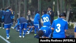 Azərbaycan - qadın futbolçular