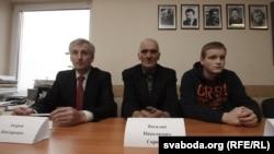 Андрэй Бандарэнка, Васіль Сарочык, Мікіта Ліхавід