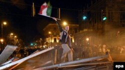 На баррикадах Будапешта. Венгры отметили 159-летие революции по-венгерски