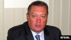 Вадим Тюльпанов в бытность председателем законодательного собрания Санкт-Петербурга.