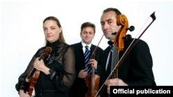 Членовите на Гудачкото трио Косово