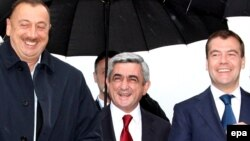 Azərbaycan, Ermənistan və Rusiya prezidentləri Sankt-Peterburqda görüşürlər, 5 iyun 2009