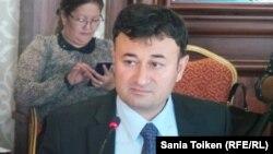 Ровшан Ибрагимов, заведующий отделом анализа внешней политики центра стратегических исследований при президенте Азербайджана. Актау, 18 сентября 2014 года.