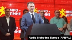 The former prime minister and leader of the VMRO-DPMNE conservative party, Nikola Gruevski, denies all charges.