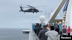 کشتی تفریحی کروز گرند پرنسس با سه هزار و پانصد مسافر.