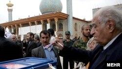 انتخابات هشتمین دوره مجلس ایران در اسفند ۸۶ - شیراز