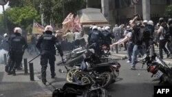Protesti u Grčkoj, maj 2010.